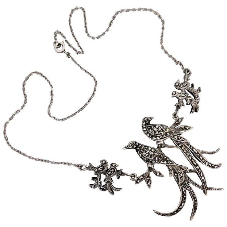 Wholesale Marcasite Necklace